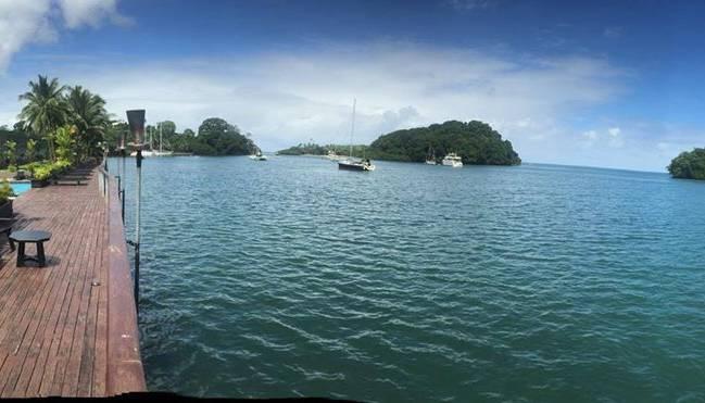 Im Pazifik-Paradies Vanuatu findet Carlo Polli ein Engagement beim Amicale FC