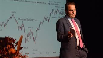 Börsenkurse- und Kurven sind seine Welt: Jens Korte, Wall-Street-Korrespondent.