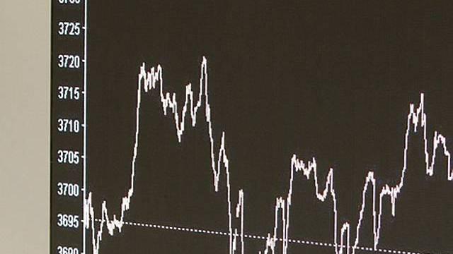 Schweizer Börse im Minus