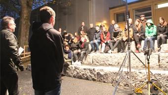 Steintreppen an der Bünz – eine Idee der Jugendsession 2016.