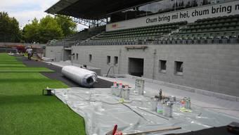 Stadion Esp in Baden bekommt einen Kunstrasen