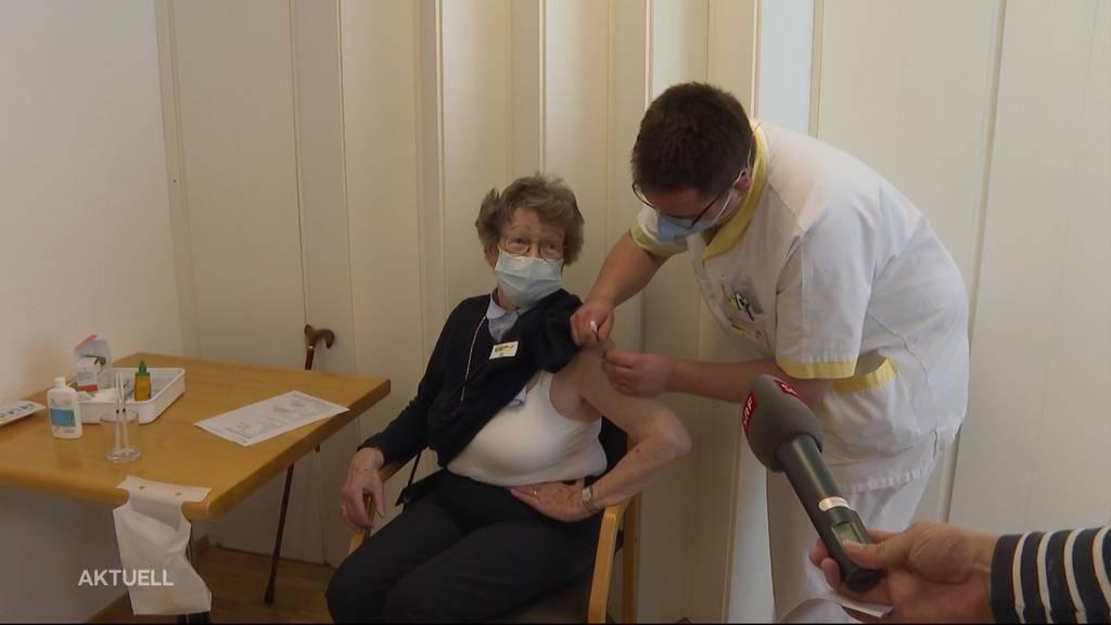 Impf-Ziel erreicht: Aargauer Altersheime sind durchgeimpft