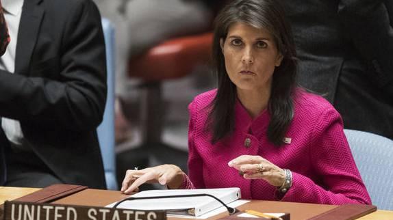 Die US-Botschafterin bei der Weltorganisation, Nikki Haley, schliesst einen Wiedereintritt in den Menschenrechtsrat nicht aus.