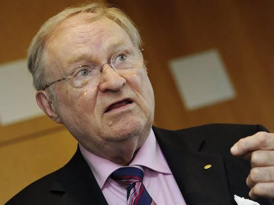Ludwig Minelli: Der Zürcher Anwalt gründete Dignitas 1998. Nun steht er vor Gericht.