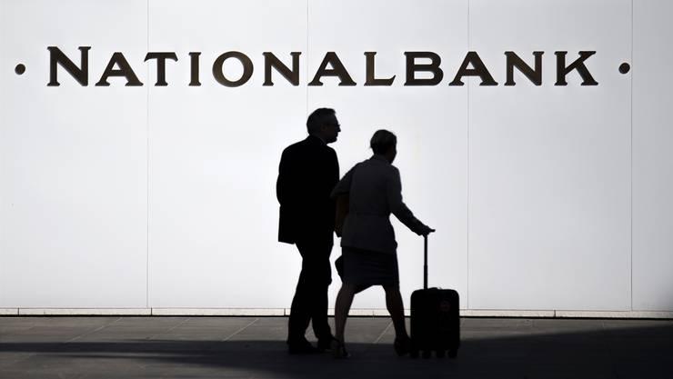 Bisher in diesem Jahr gut unterwegs: Die Schweizerische Nationalbank (SNB).KEY