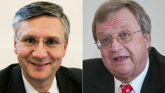 Andreas Glarner und Ulrich Mathys