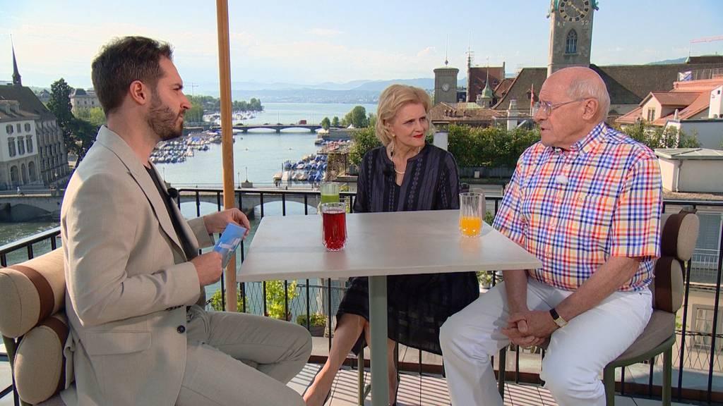 Doris Fiala und Armin Walpen, Zürcher FDP-Nationalrätin und ehemaliger SRG-Direktor