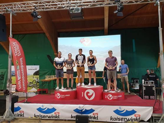 Robin Wild freut sich derweil über seinen zweiten Platz an der Challenge Kaiserwinkl-Walchsee in Tirol.