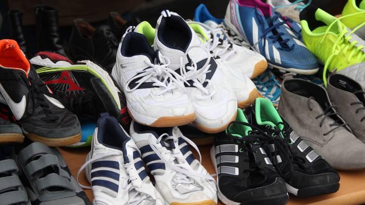 Wie kann man Schuhe vergessen