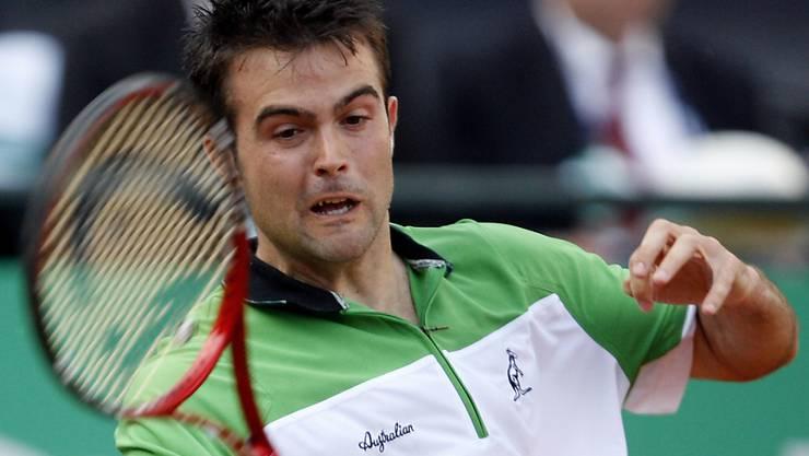 Der Italiener Daniele Bracciali gewann in diesem Sommer am J. Safra Sarasin Swiss Open in Gstaad den Titel im Doppel (Archivbild)