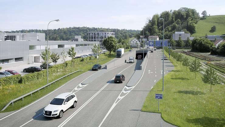 2013 hatte das Aargauer Stimmvolk mit 73 Prozent Ja-Anteil dem total 75 Millionen Franken teuren Bauvorhaben zustimmt.