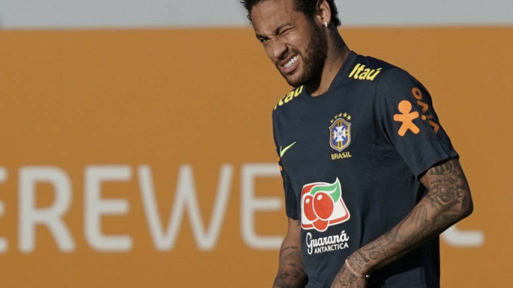 Neymar liess Training wegen Knieproblemen aus