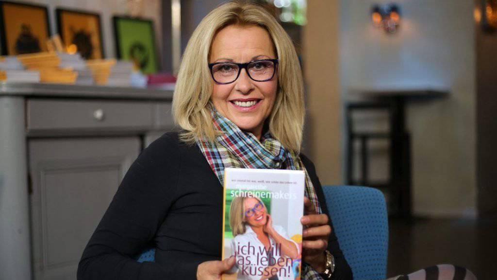 TV-Moderatorin Margarethe Schreinemakers legt mit 57 Autobiografie vor (Bild aktuell)