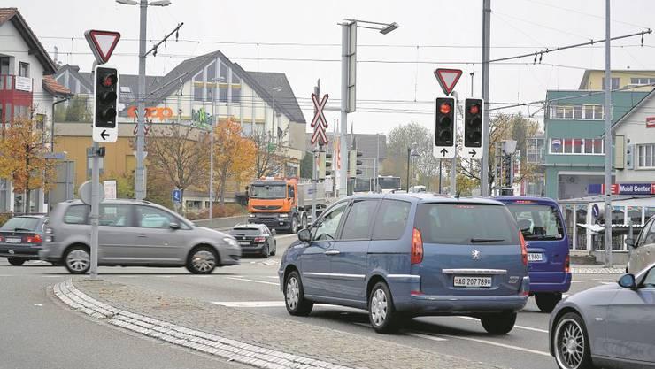 Der Verkehr auf und um die Mutschellenkreuzung soll entflechtet werden