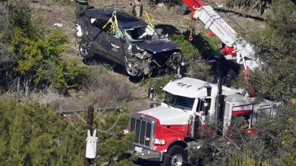 Golf-Star Tiger Woods war bei Unfall viel zu schnell unterwegs