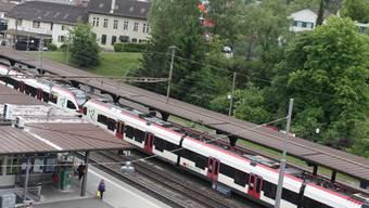 Der Unfall passierte im Liestaler Bahnhof. (Symbolbild)