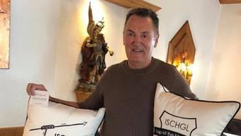 Anfang März genoss Max Suter noch die Ferien im österreichischen Ischgl. Jetzt ist der Polizeisprecher daheim in Quarantäne und auf dem Weg zur Besserung.