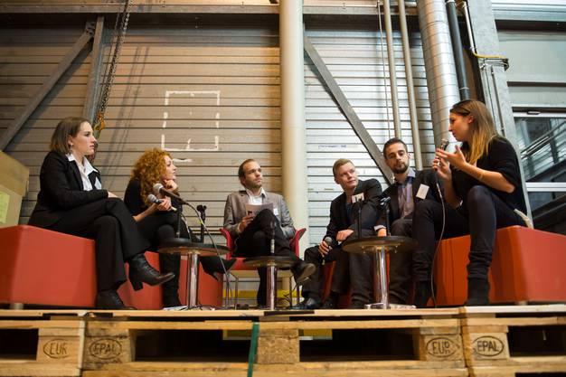 Stefan Stalder im Gespräch mit fünf Talenten