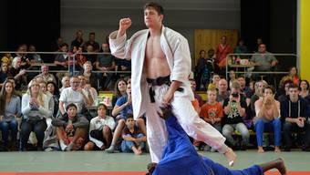 Ciril Grossklaus macht mit der Silbermedaille -90 Kg am Oceania Open in Wollongong (SUI) einen weiteren Schritt in Richtung Rio 2016. (Archiv)