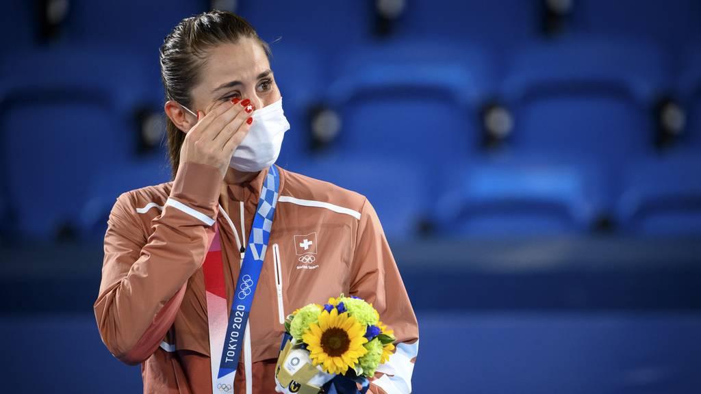 Olympiasiegerin! Belinda Bencic gewinnt Gold im Einzel