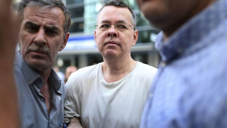 Der US-Pastor Andrew Brunson kommt nach zwei Jahren in türkischer Haft frei. (Archivbild)