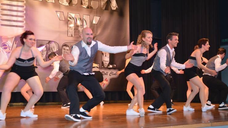 Tanzfeeling pur an der 9. Ausgabe der «Rock'n'Roll Fever Show und Dance Night» in der Mehrzweckhalle Hausen mit demRock'n'Roll-Club Lollipop;Frech und vor Energie sprühend: die Lollipops.