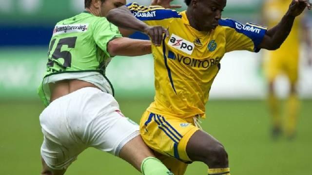 Die Grasshoppers gewinnen das Duell mit St. Gallen gegen den letzten Tabellenplatz