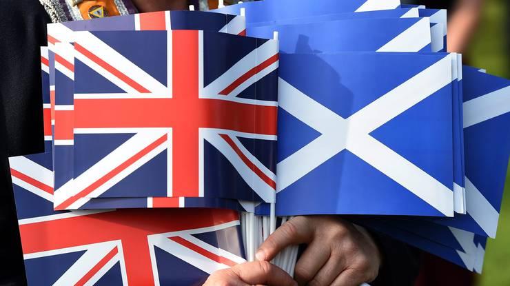 Die Schotten wollen unabhängig von Grossbritannien sein.