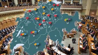 In Deutschschweizer Kantonsparlamenten wir knapp mehr Schweizerdeutsch als Hochdeutsch gesprochen.