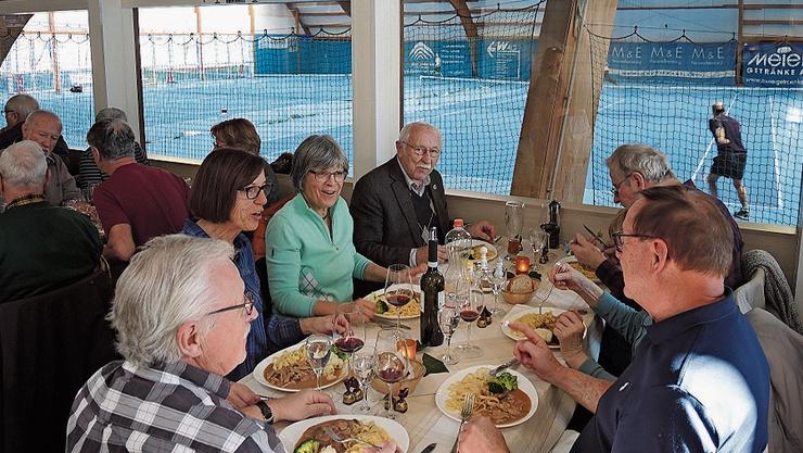 Für Senioren gibts ein ausgewogenes Zmittag für Fr. 22.50.