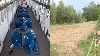 Probleme mit den Turbinen beim Wasserkraftwerk Gösgen führten zu Überschwemmungen in Obergösgen.