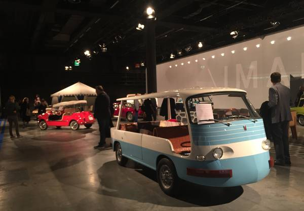 An der Design Miami Basel gibt's für Autofans immer einige Goldie-Oldies.