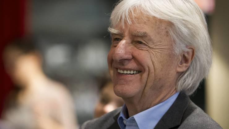 Emil Steinberger ist auch mit 82 noch fit wie ein Turnschuh - und spart viel Zeit, weil er seine Nummern nicht proben muss (Archiv).