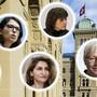 Die Nationalrätinnen Isabelle Moret (FDP), Mattea Meyer (SP), Sibel Arslan (Grüne), Christine Bulliard (CVP), Rosmarie Quadranti (BDP) und Kathrin Bertschy (GLP) fordern Massnahmen gegen sexuelle Gewalt an Frauen.