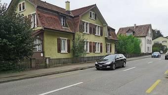 Das Ende der zwei Häuser an der Erlinsbacherstrasse ist nah.
