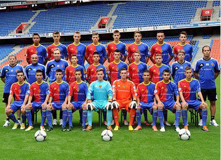 und die U-18-Mannschaft des FC Basel.