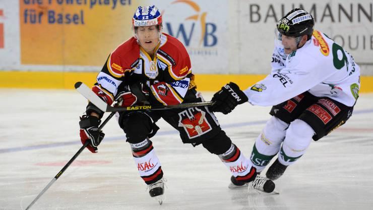 Wittwer spielte zwischen 2009 und 2014 für den EHC Basel in der NLB.