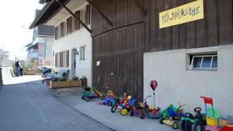 Hier herrscht wieder Frieden: Die Fislisbacher Kindertagesstätte Suneblueme.  PHN