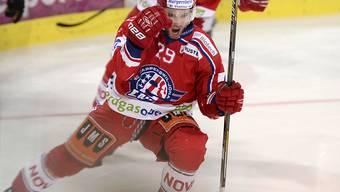 Reto Schmutz startete erfolgreich in den Playoff-Final (Archivbild)