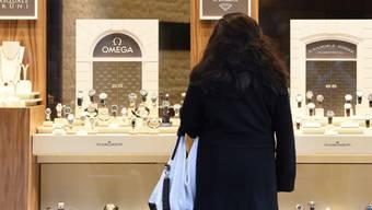 Sinkende Nachfrage nach Uhren: bei den Bijouterien schlugen vor allem ausbleibende Touristen negativ zu Buche.