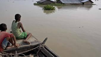 Die starken Monsun-Regen haben vielerorts Ernten ruiniert und Lebensmittel weggeschwemmt. (Archiv)