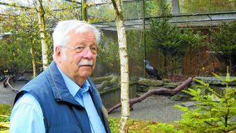Fred Sommer: «Es gibt nicht nur schöne Momente in einem Tierpark», sagt der ehemalige Tierpfleger. (Bild: JOH)