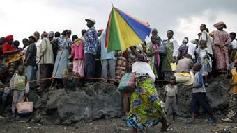 Kongolesische Flüchtlinge (Archiv)