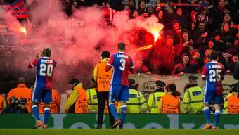 Der FC Basel setzt in Manchester ein Ausrufezeichen.