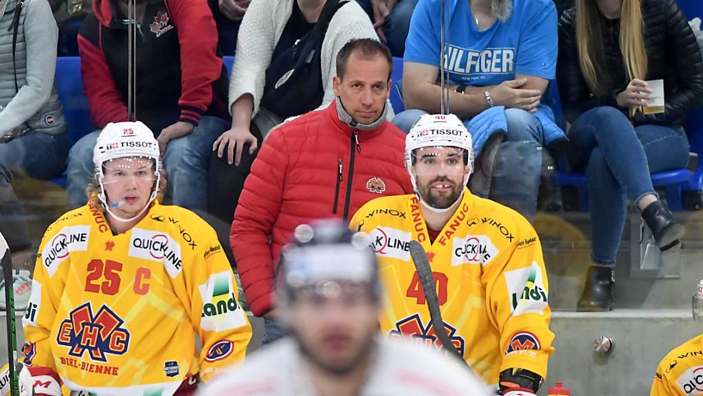 Für Biels Trainer Antti Törmänen und seine Mannschaft gab es in Ambri nichts zu holen