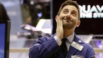 Ein Händler der NYSE (Archiv)