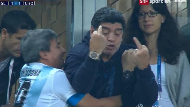 Die tragische Show des Diego Maradona