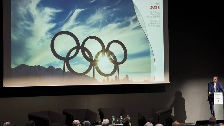 """Der Bundesrat unterstützt die Kandidatur """"Sion 2026"""" für die Olympischen Winterspiele. (Archivbild)"""