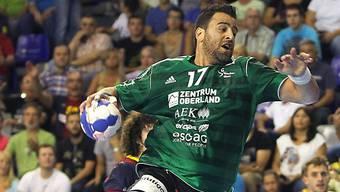 Auch Georgios Chalkidis konnte die Thuner Niederlage nicht abwenden