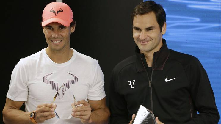 Roger Federer weiss wie stark Rafael Nadal ist.
